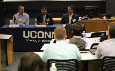 Finance Conference picture of speakers